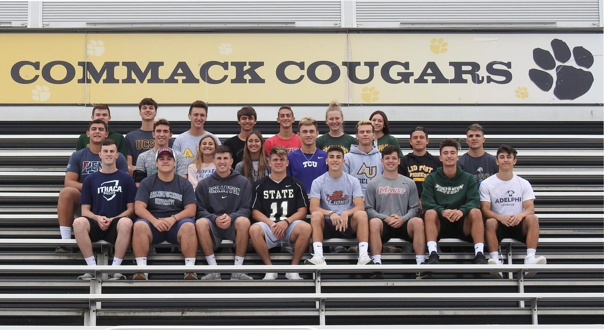 Commack College Athletes
