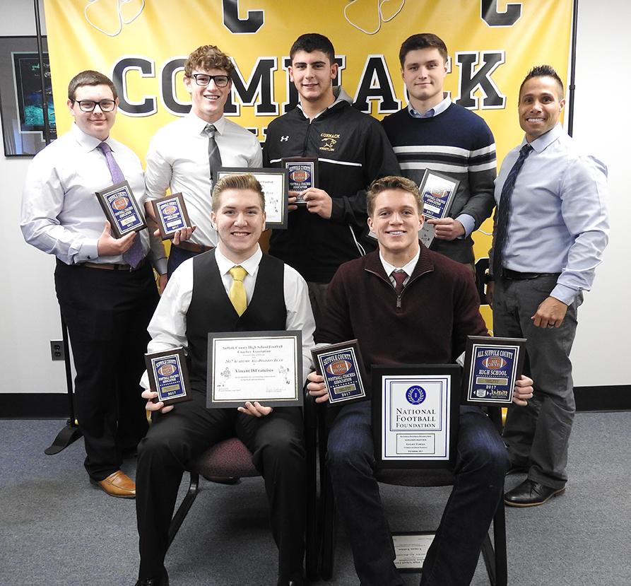 Varsity Football Team Awardees