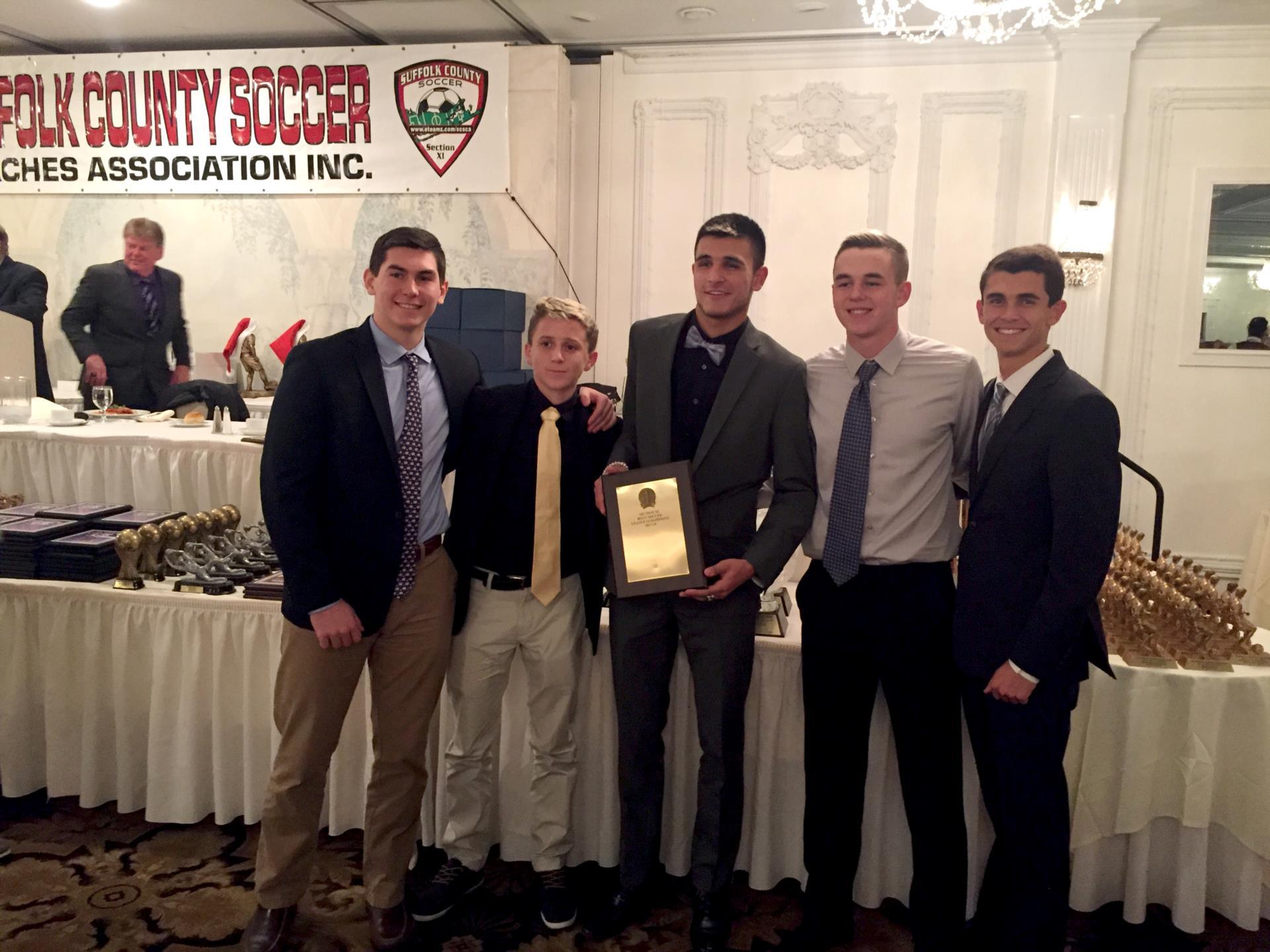 Boys Varsity Soccer Awards