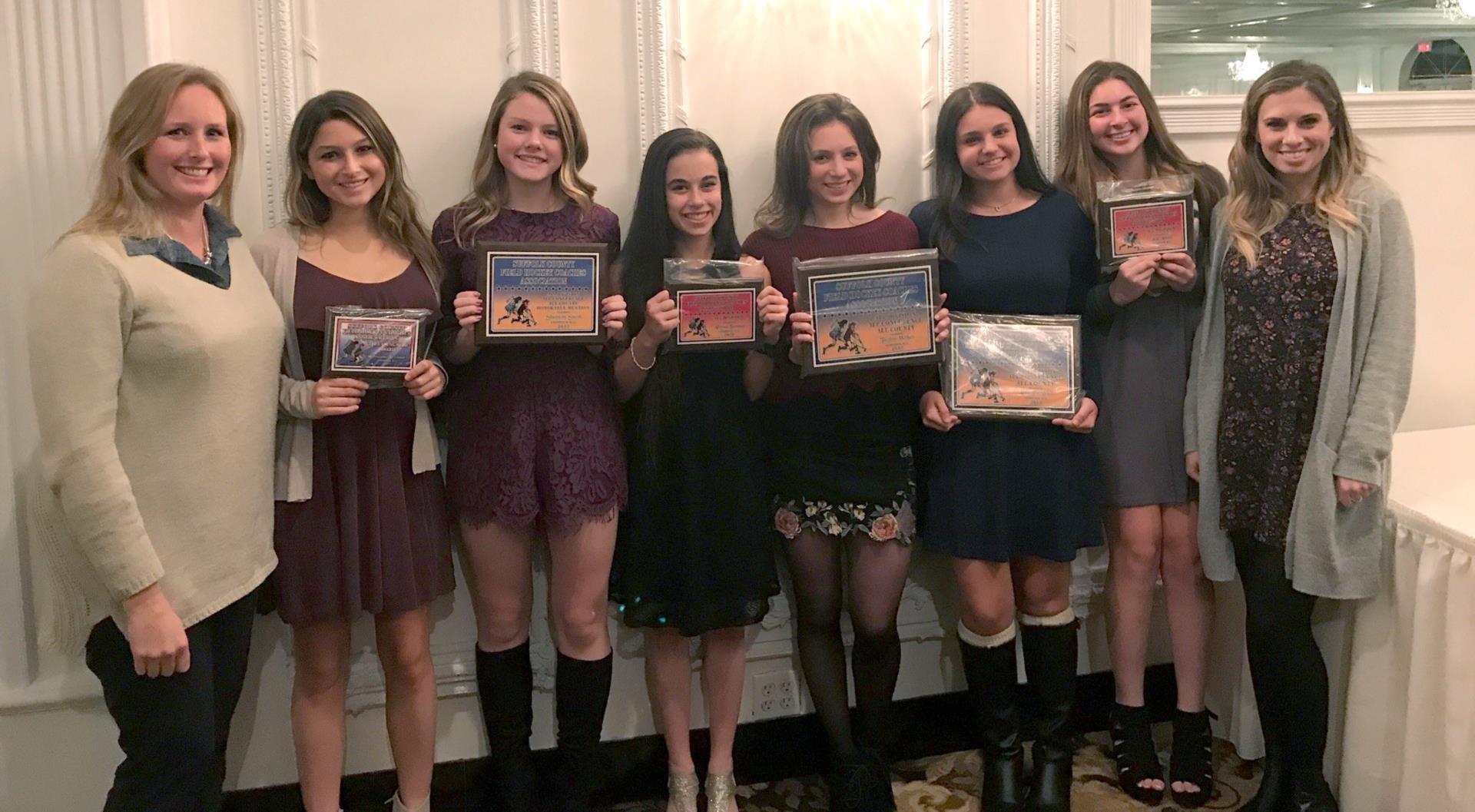 Field Hockey Award winners