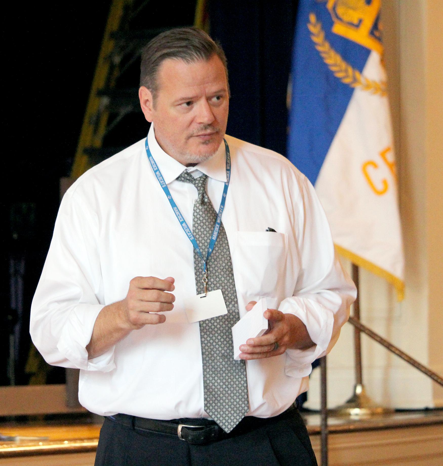 Superintendent Terry Dougherty