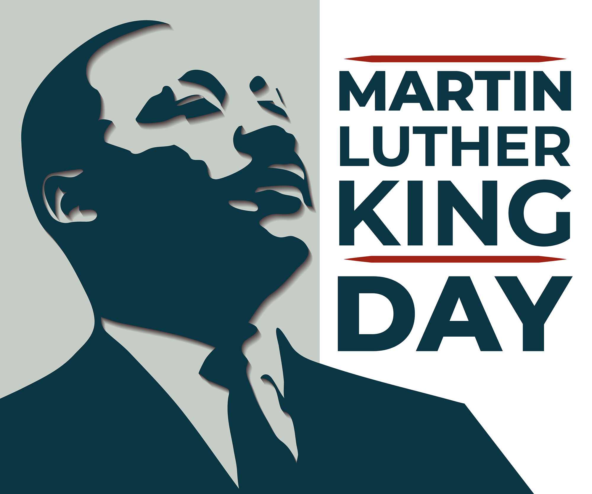 Martin Luther King Day illustration (1/2021)