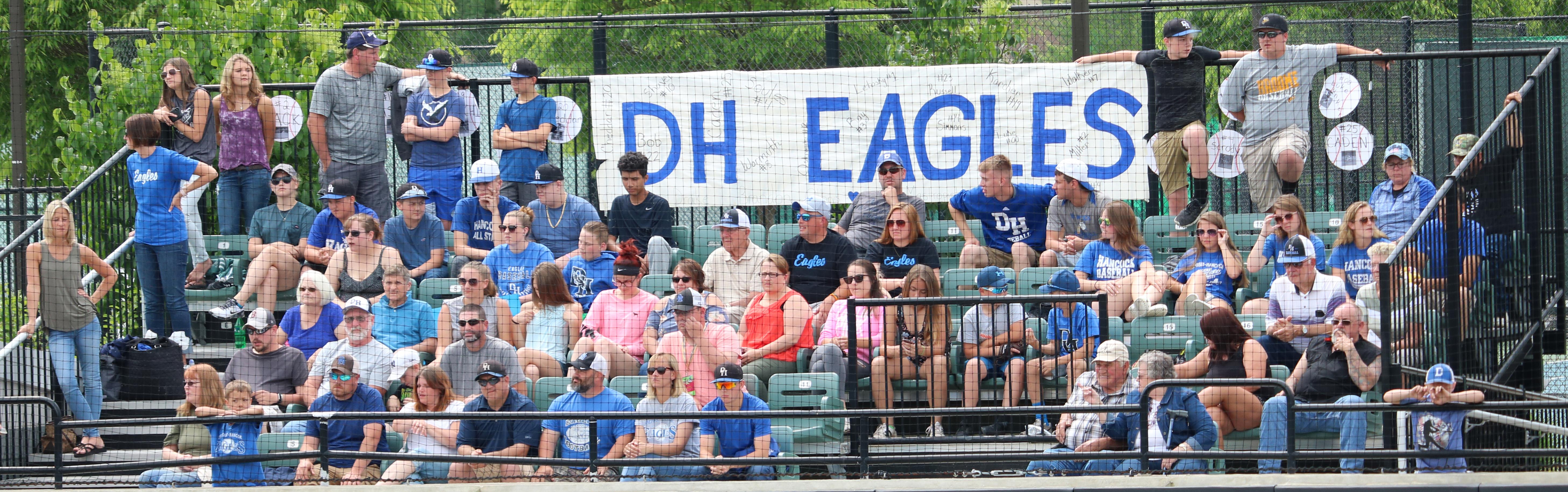 DH Eagles fans (group)