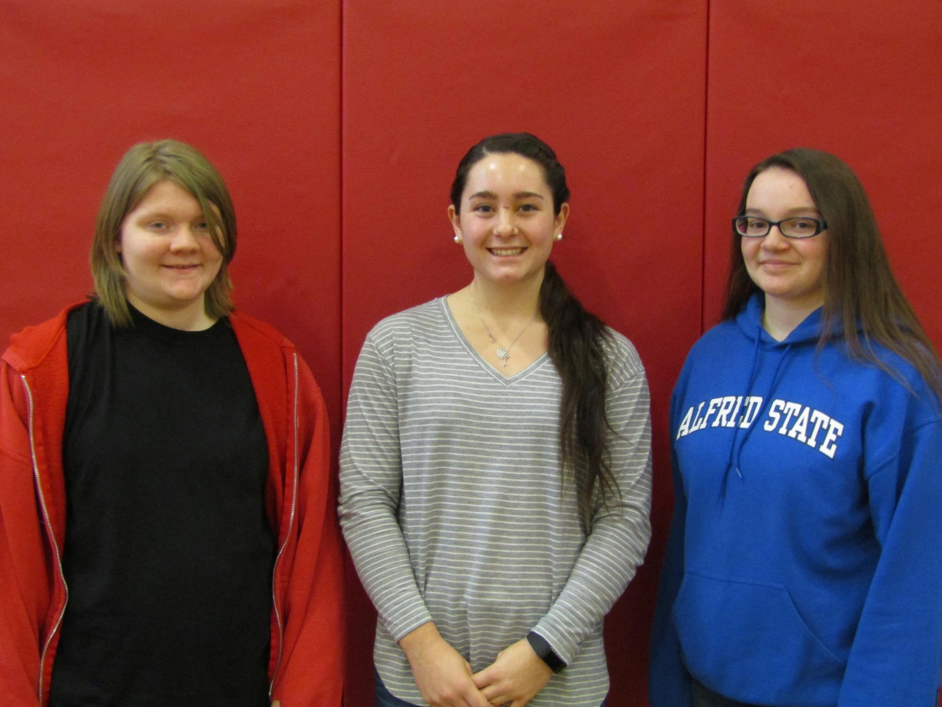 Girls Bowling Scholar Athlete Team