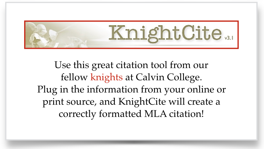 Graphic link to the KnightCite citation tool.