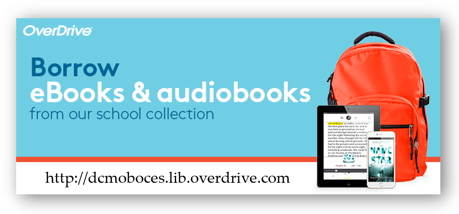 Link to OverDrive collection of eBooks.