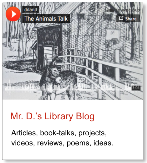 Graphic link toMr. D.'s off-site library blog.