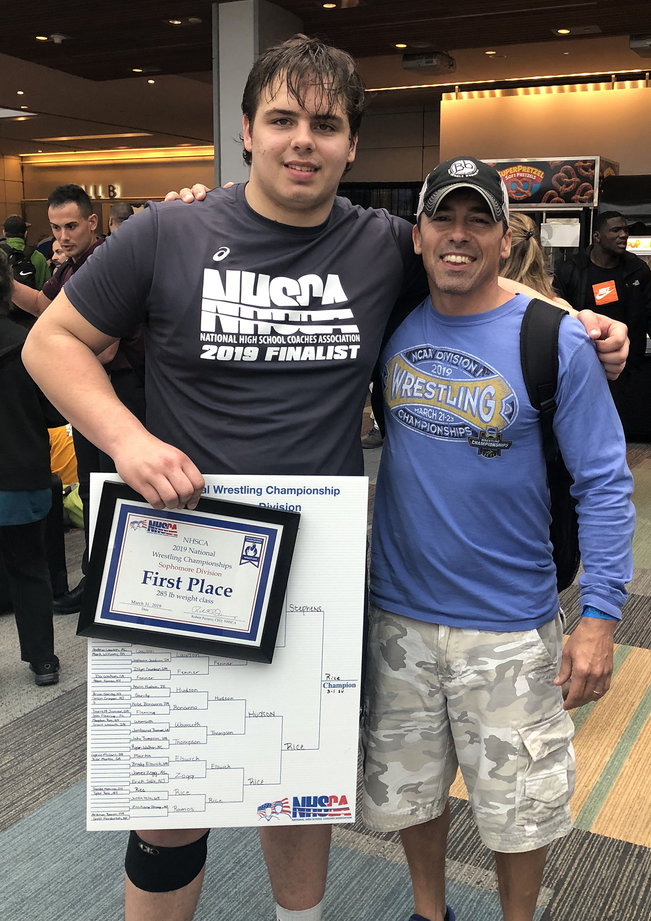 Wrestler and coach