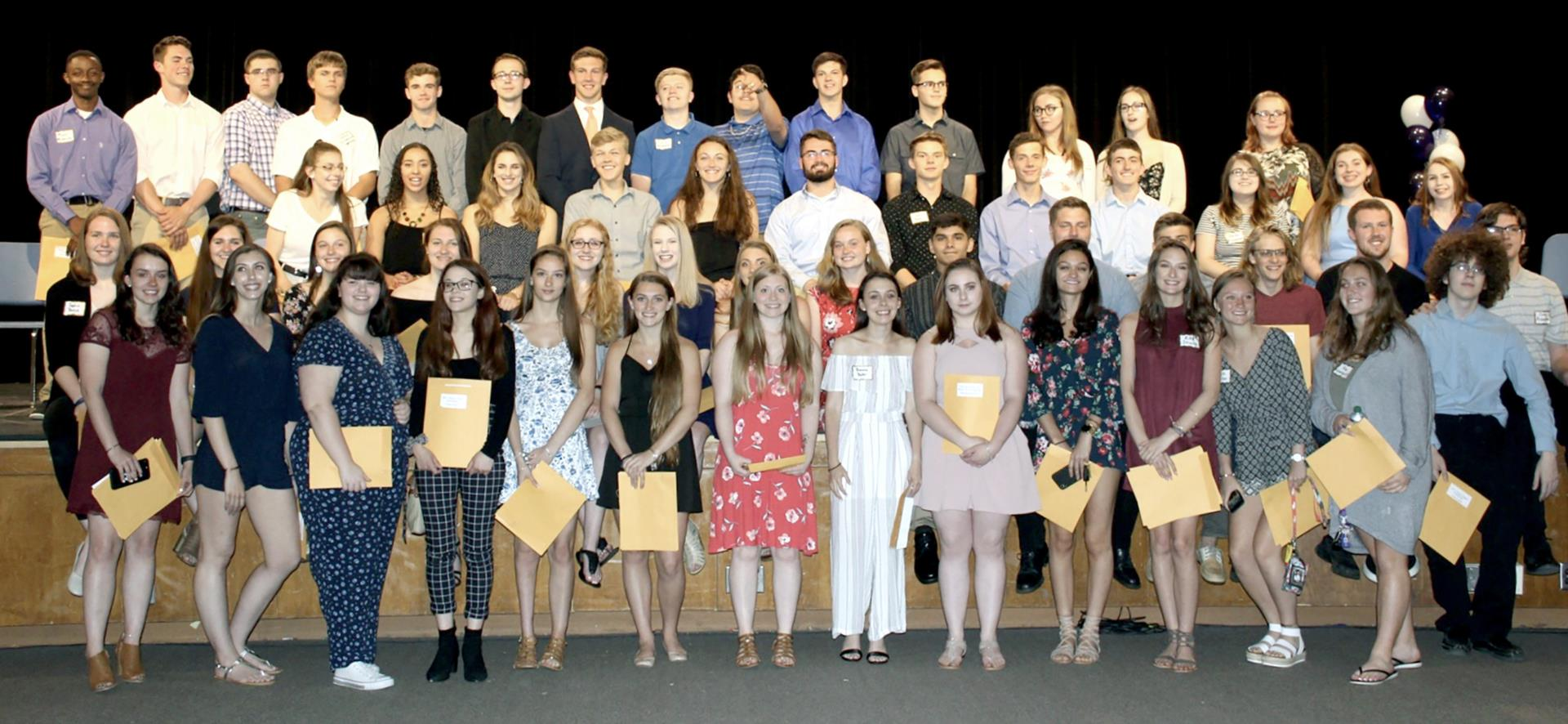 Norwich Dollars for Scholars recipients 2019