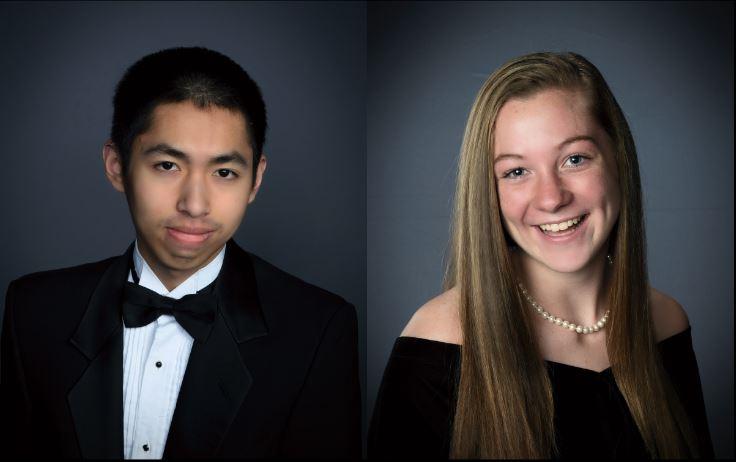 Eric Lin and Samantha Sova