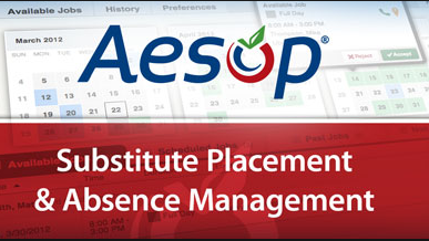 Aesop Substitute Placement and Absence Management logo