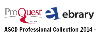 ProQuest eLibrary Logo and Link to their external web page