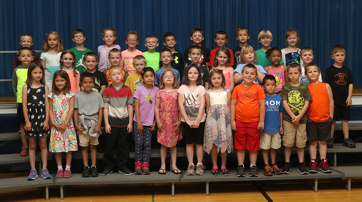First grade academic awards spring 2018