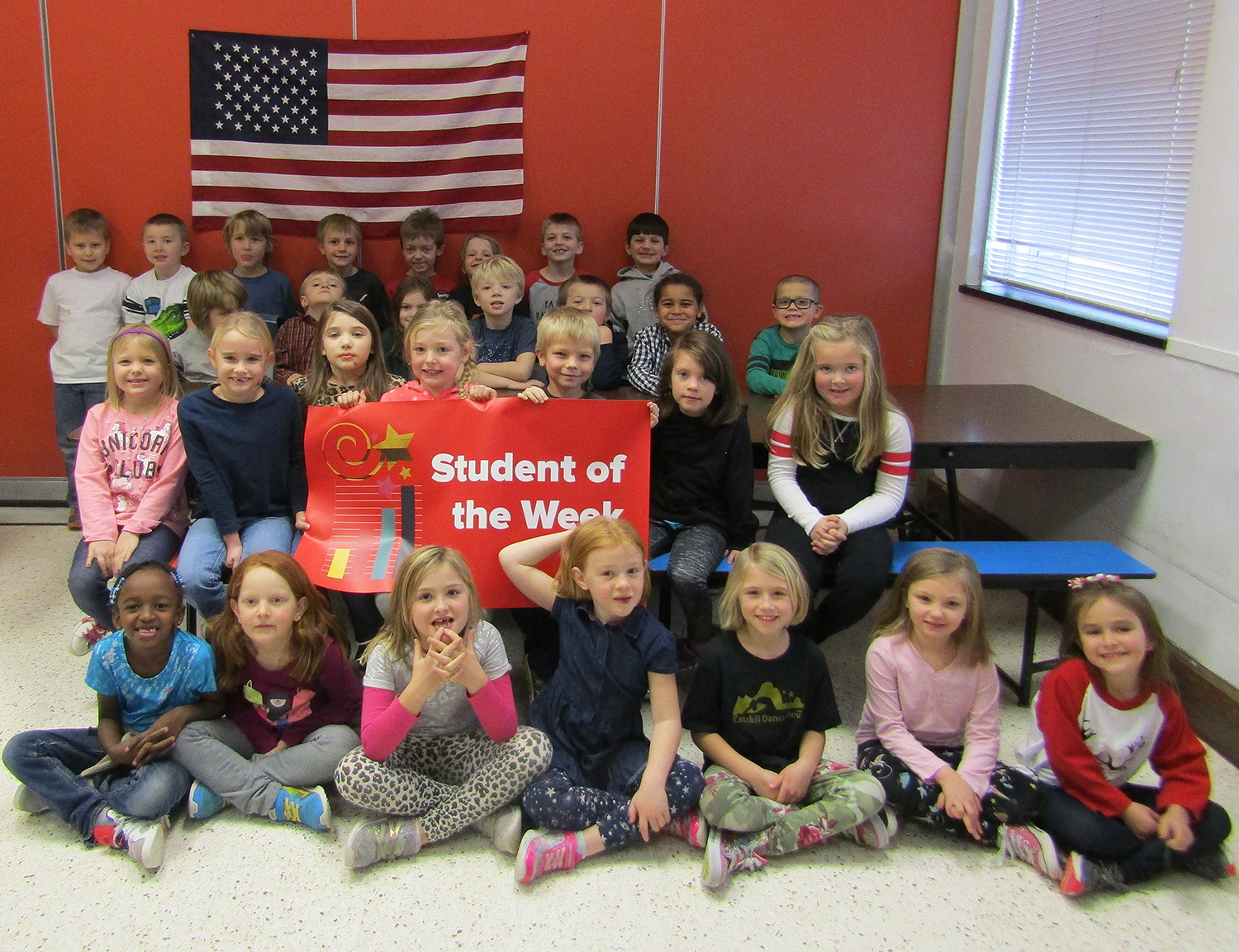 1st grade students of the week