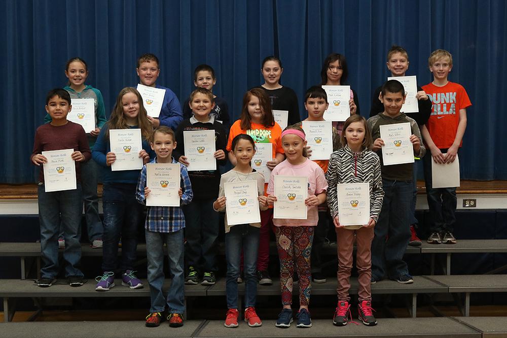 Honor rol, 4th grade