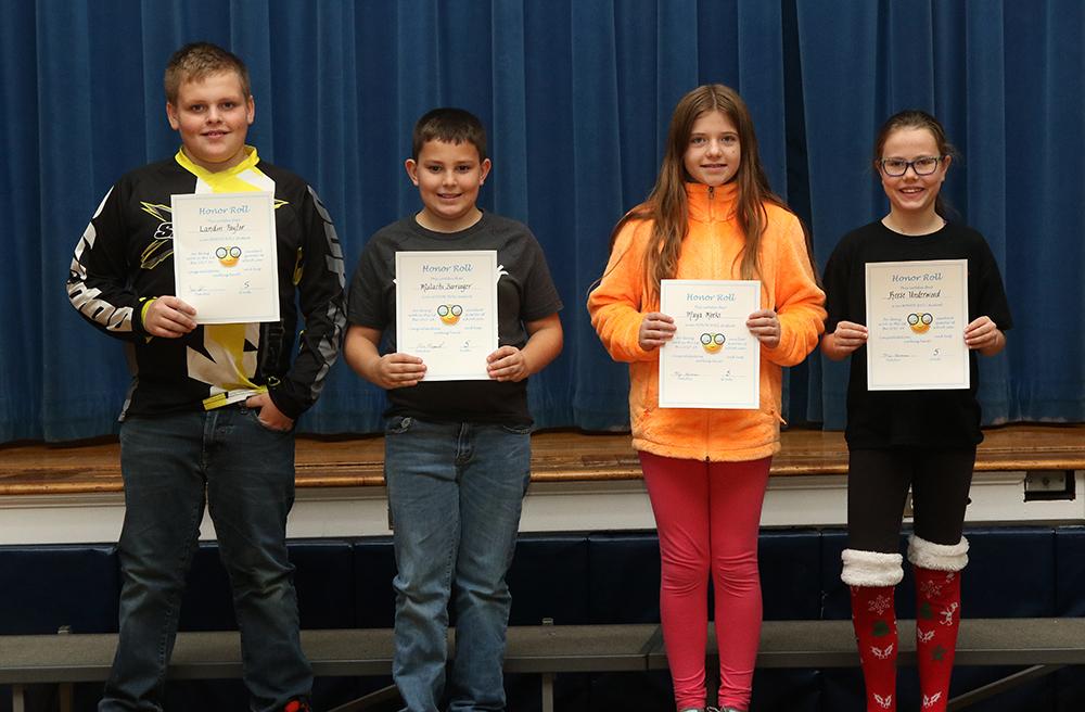 honor roll, 5th grade