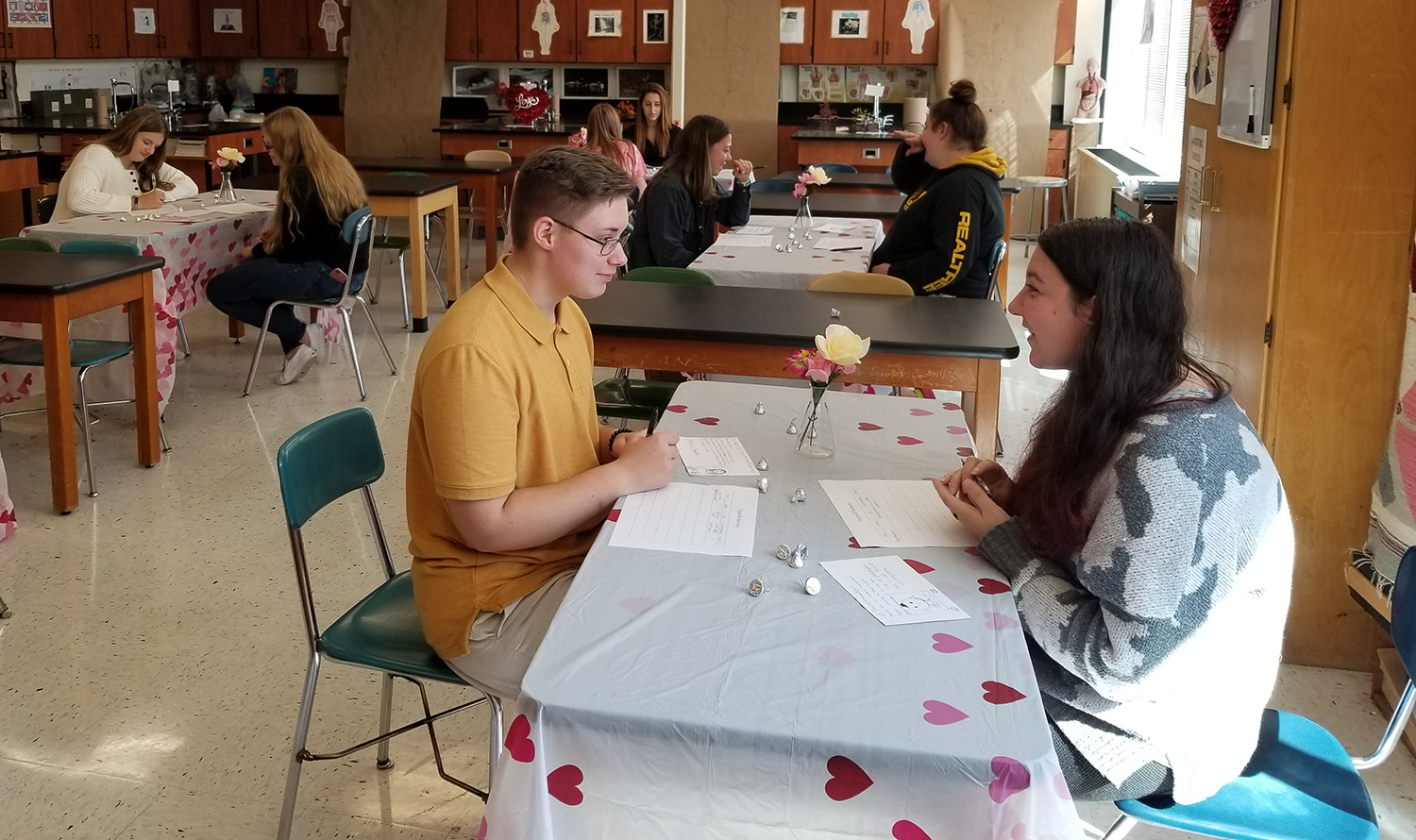 Anatomy class speed dating