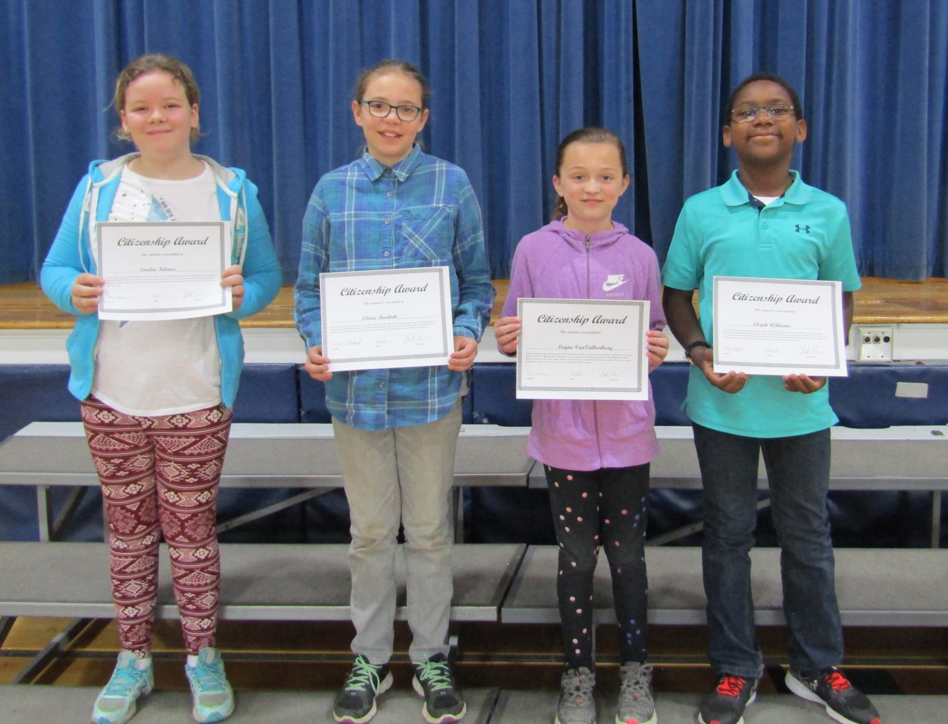 Fifth grade citizenship 2019 3rd quarter