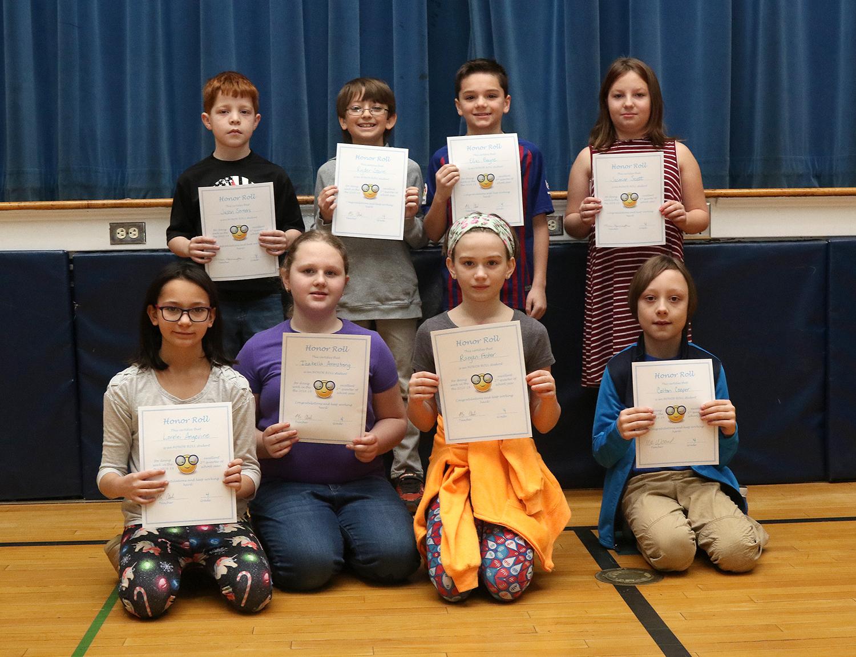4th grade honor rol