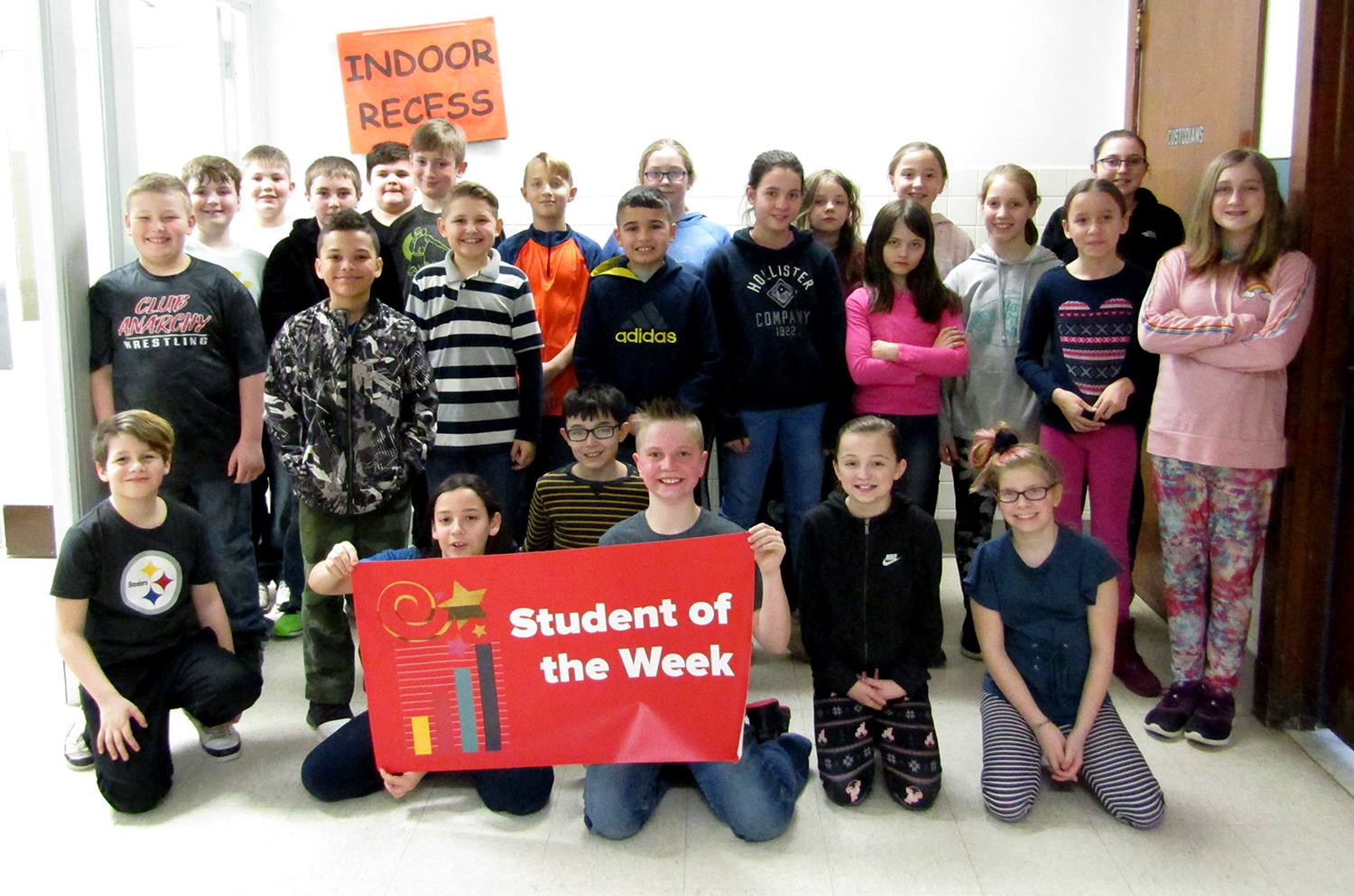 5th grade student of the week