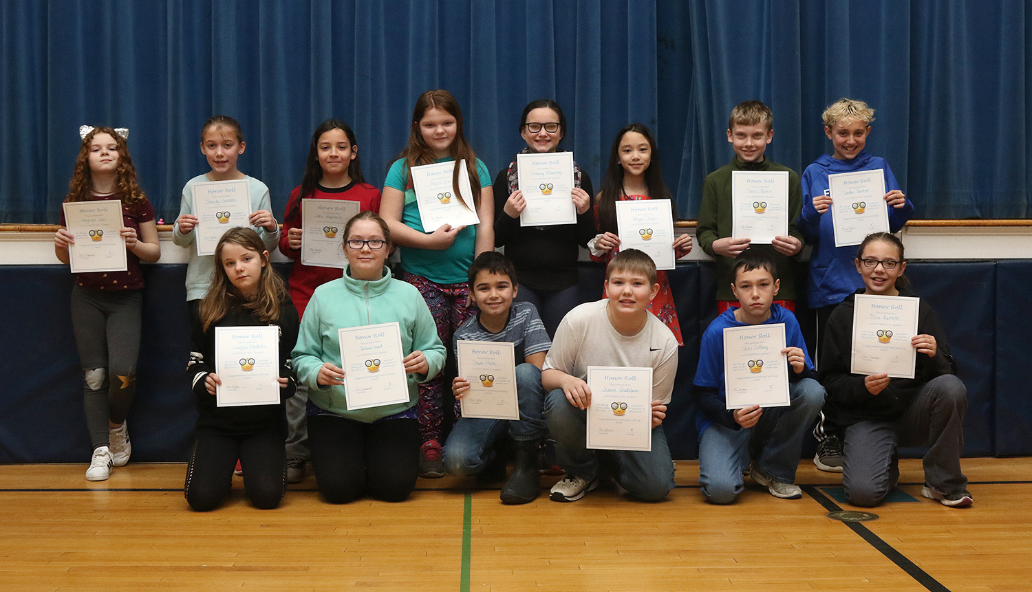 5th grade honor roll