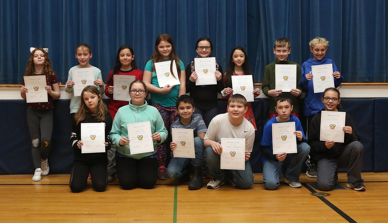 5th grade honor roll