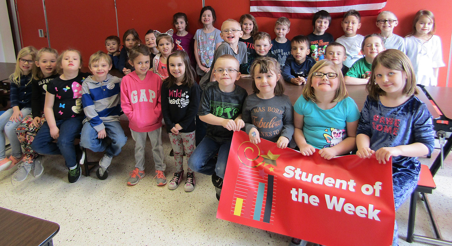 Kindergarten Student of the week