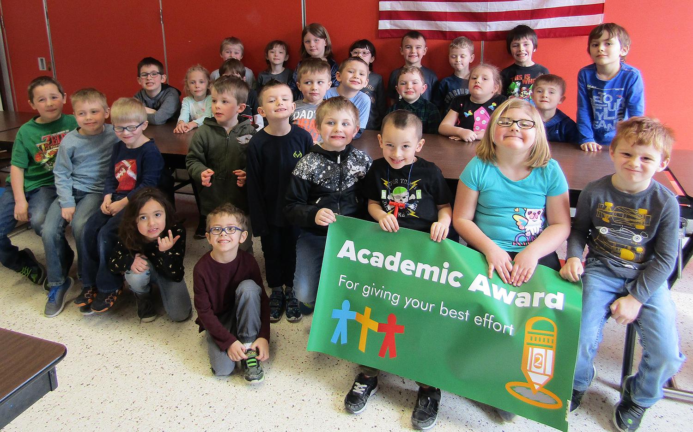 Kindergarten academic award