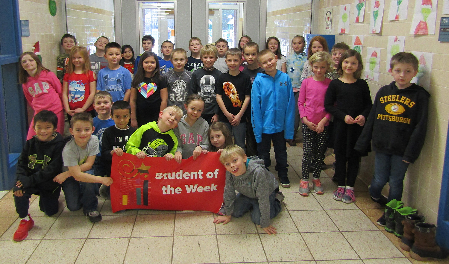 2nd grade students of the week