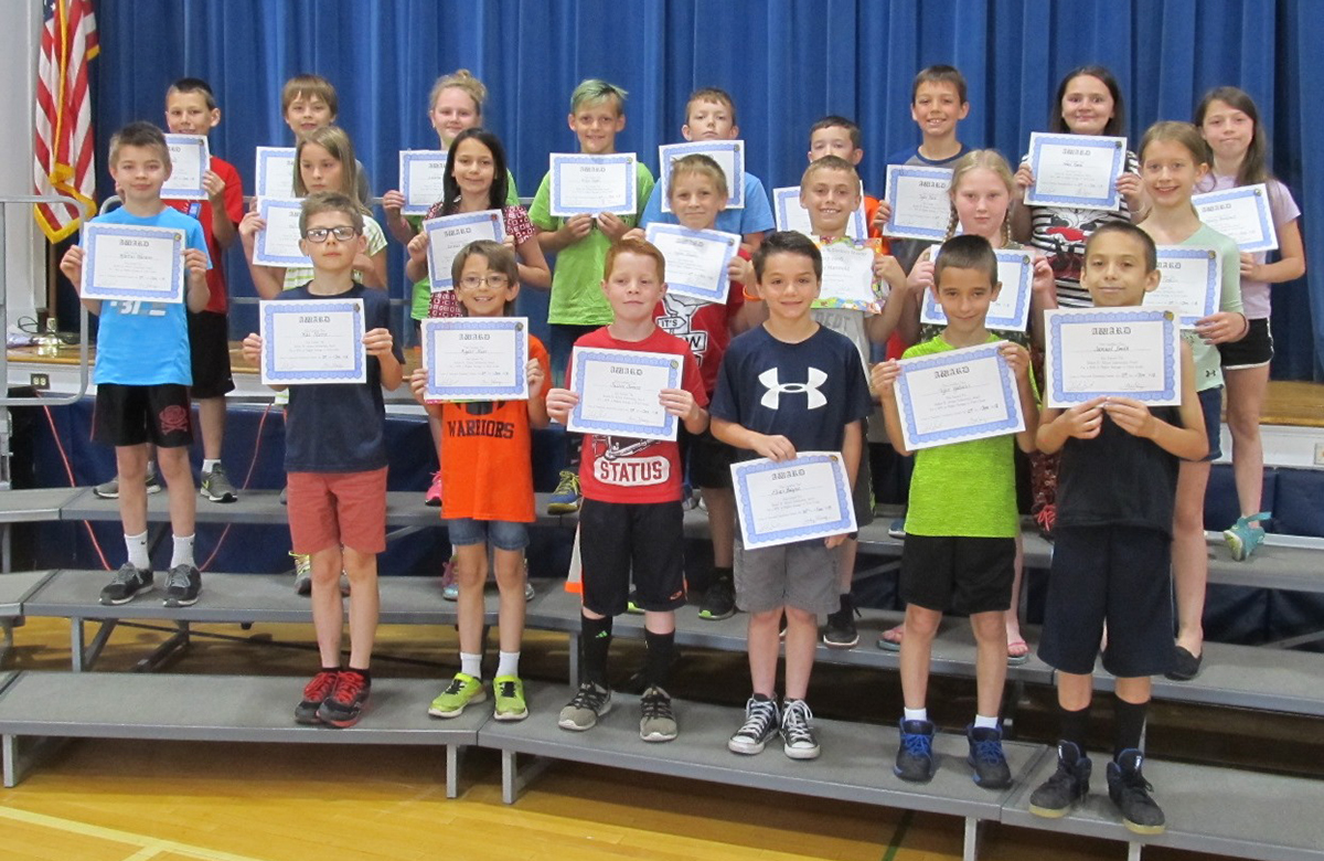 third grade allison scholarship award winners spring 2018