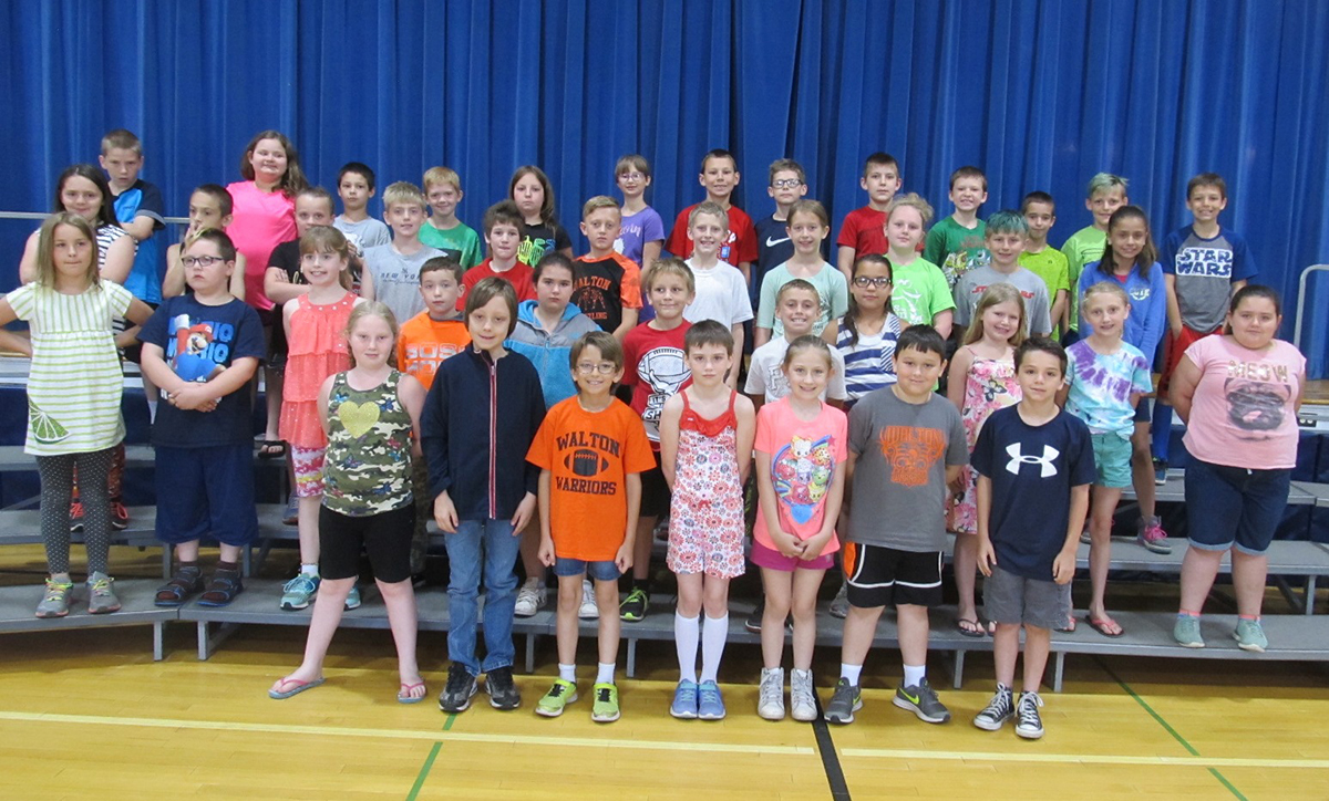 third grade olweus awards spring 2018