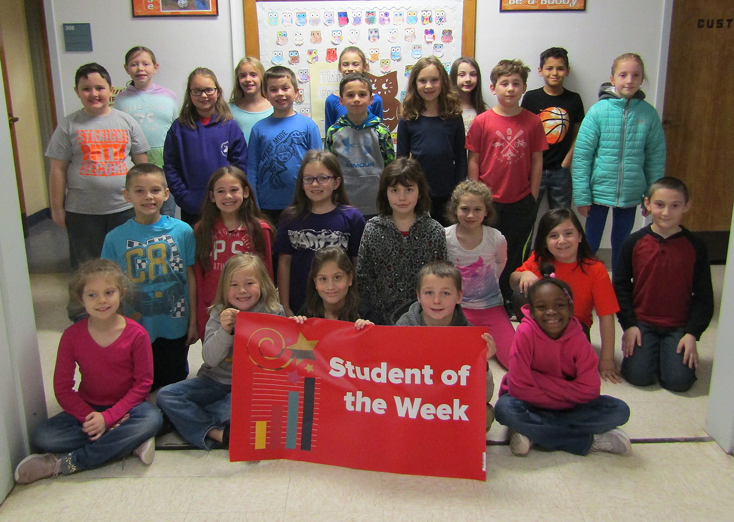 3rd grade student of the week