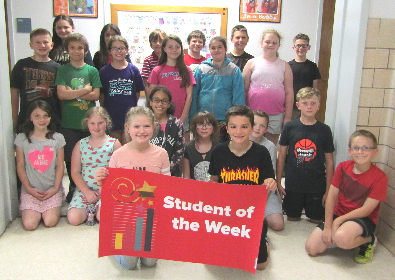 4th grade student of the week