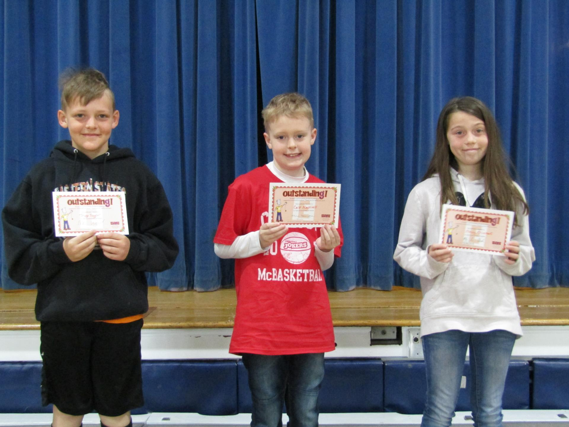 Encouraging others 2019 4th grade 3rd quarter