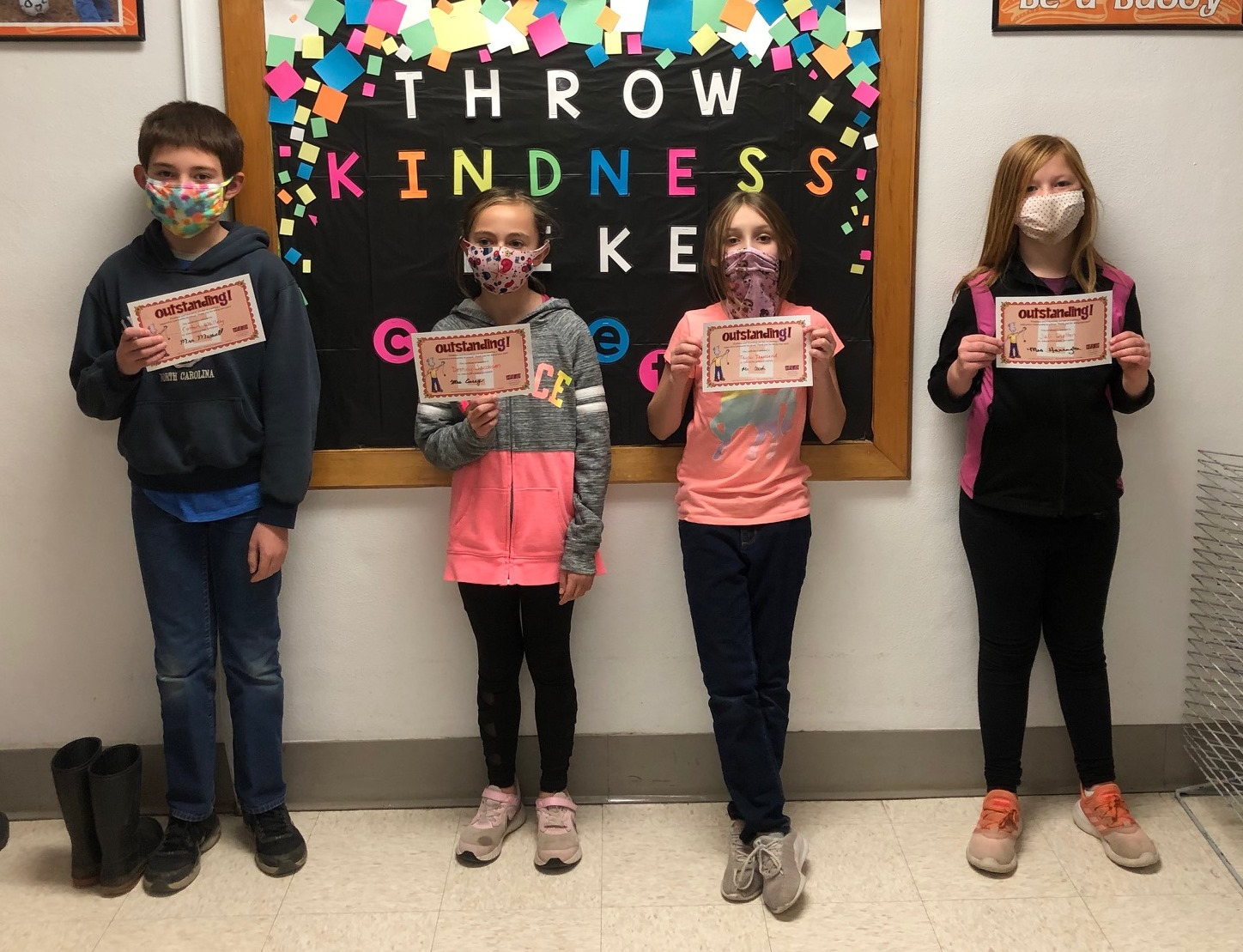 4th grade encourage others award