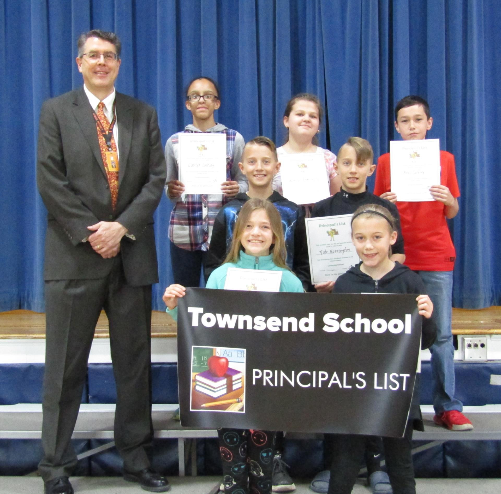 5th grade principals list 3rd quarter 2019