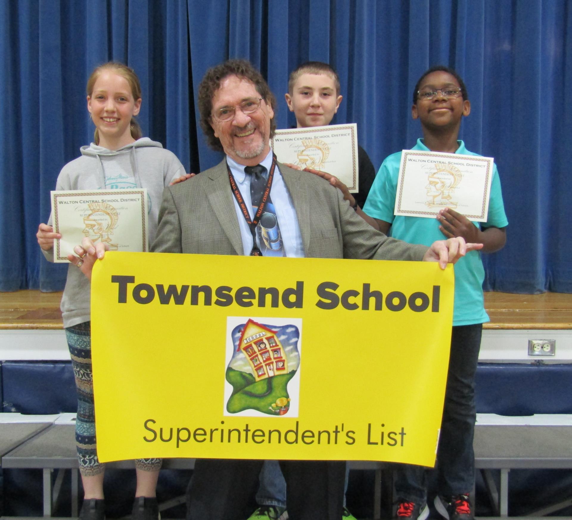 5th grade third quarter superintendent's list