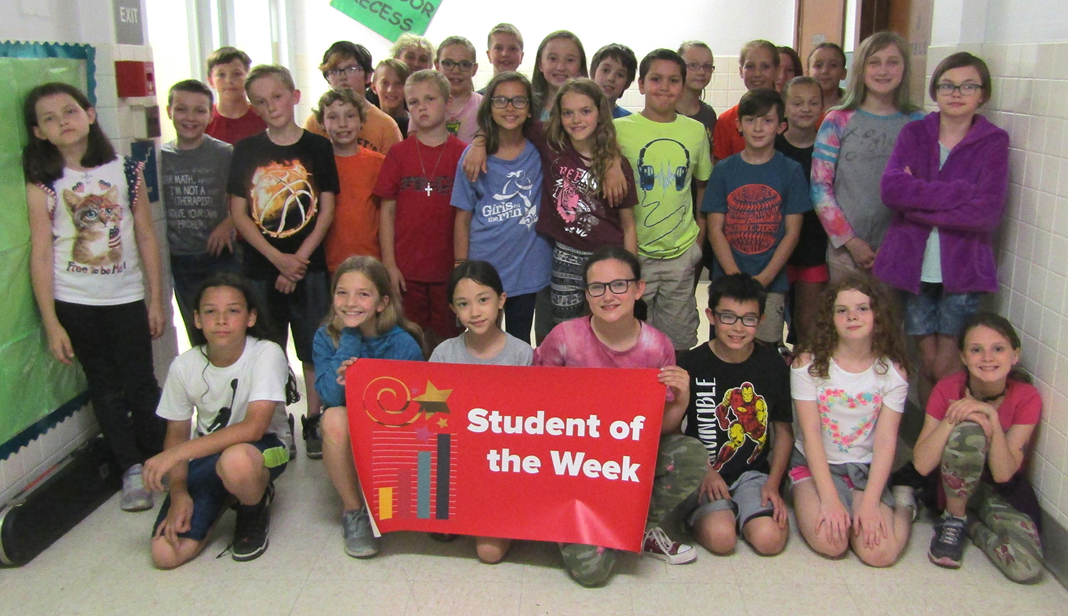 Student of the Week 5th grade