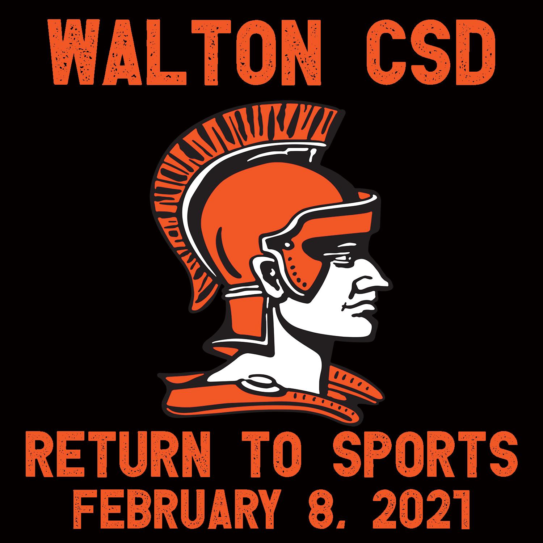 Walton return to sports 2021 graphic