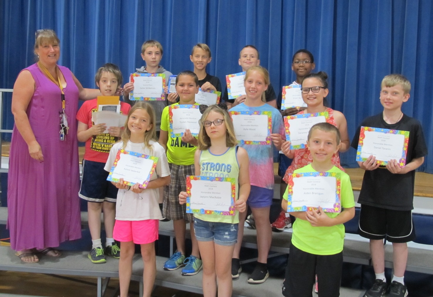 Math Awards: