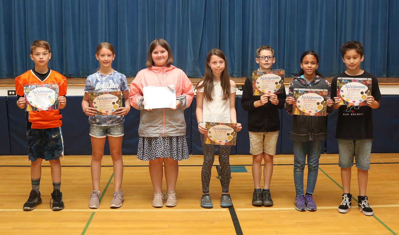 fourth grade art award