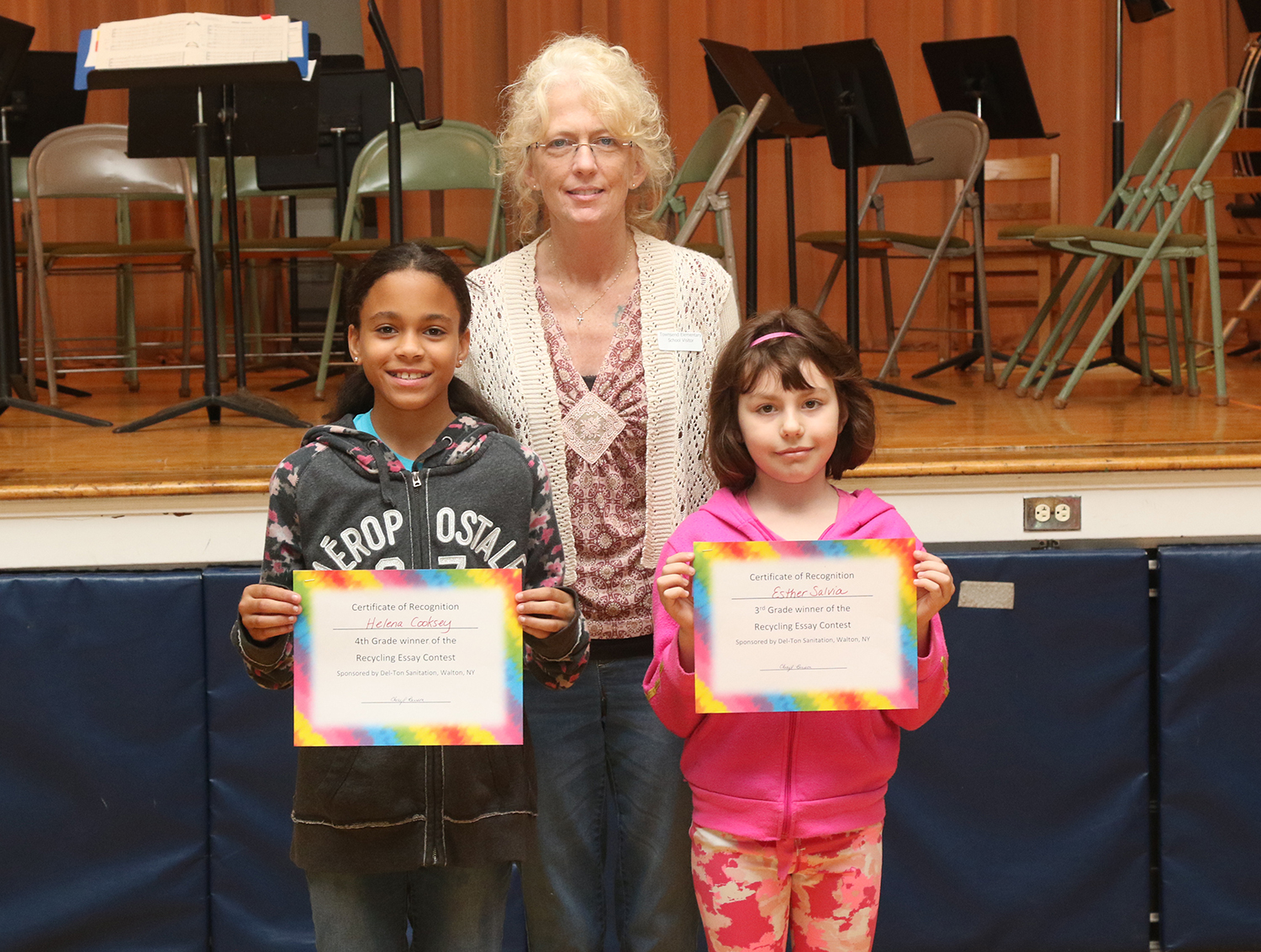 Recycling essay contest winners