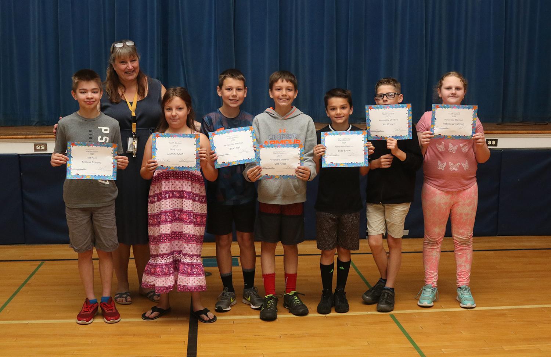 math contest award