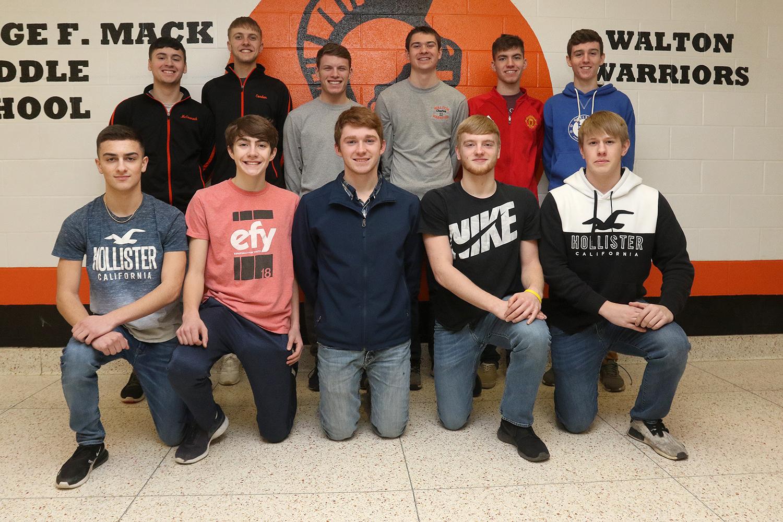 Boys basketball scholar athlete team
