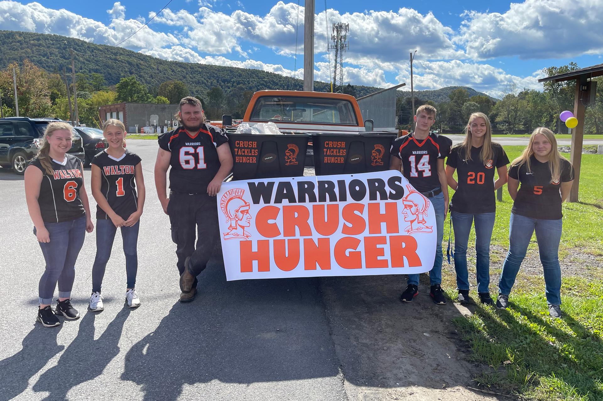 Warriors Crush Hunger group