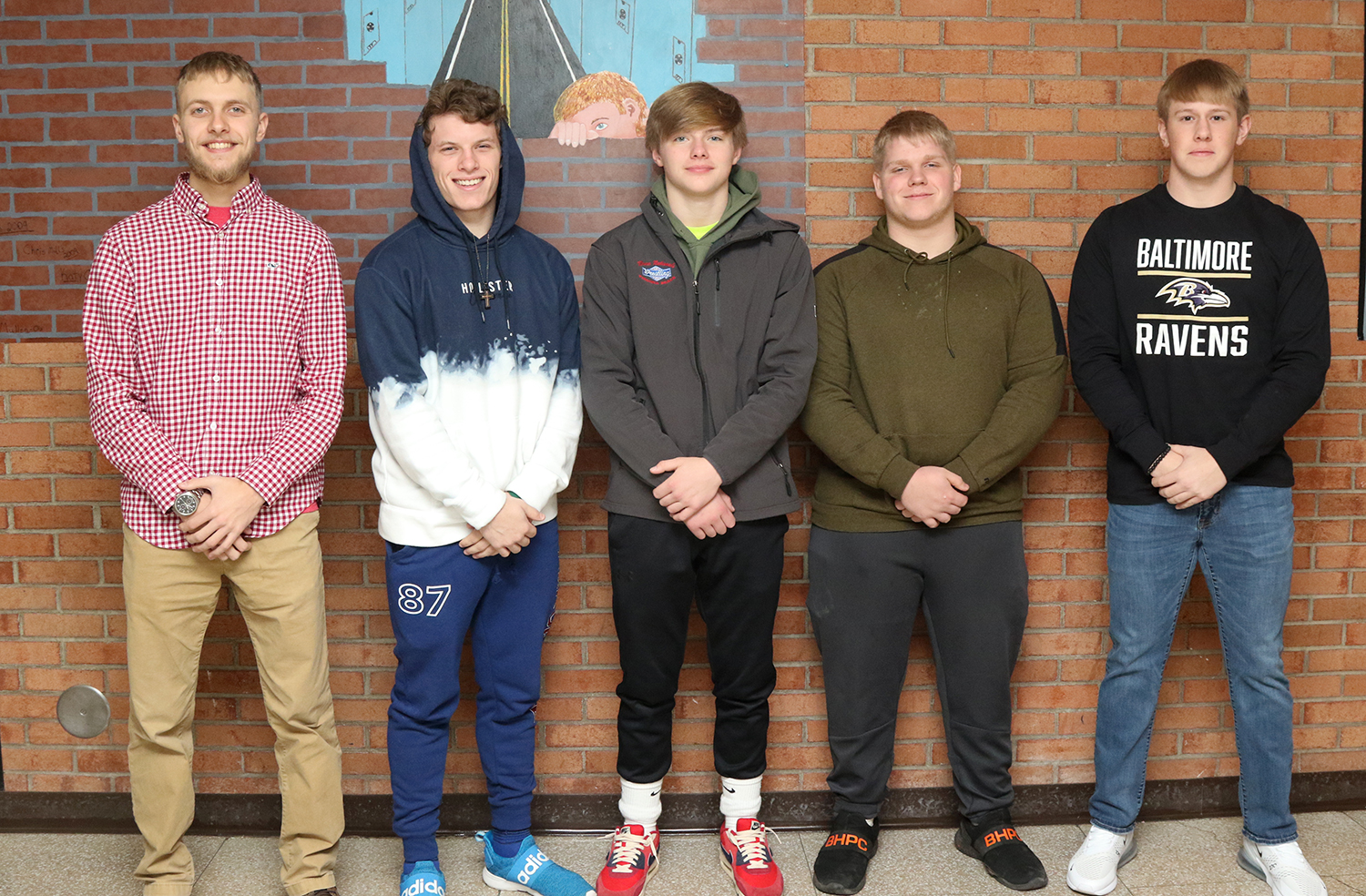 2019 All-state football team selections for Walton