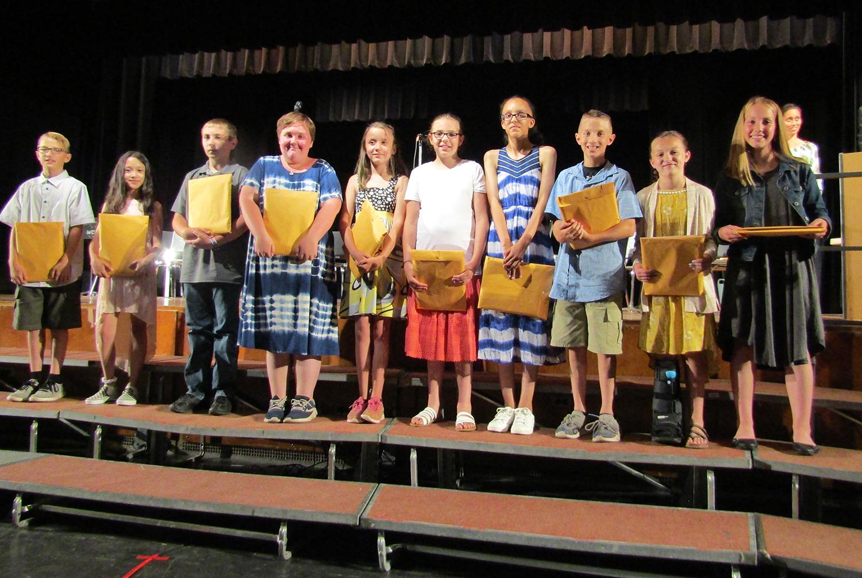 Art award 5th grade