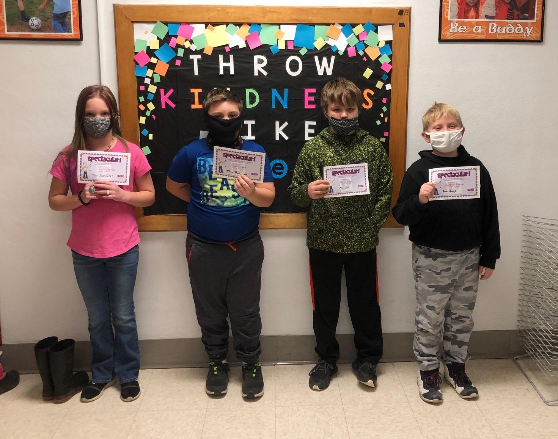 4th grade do your best award