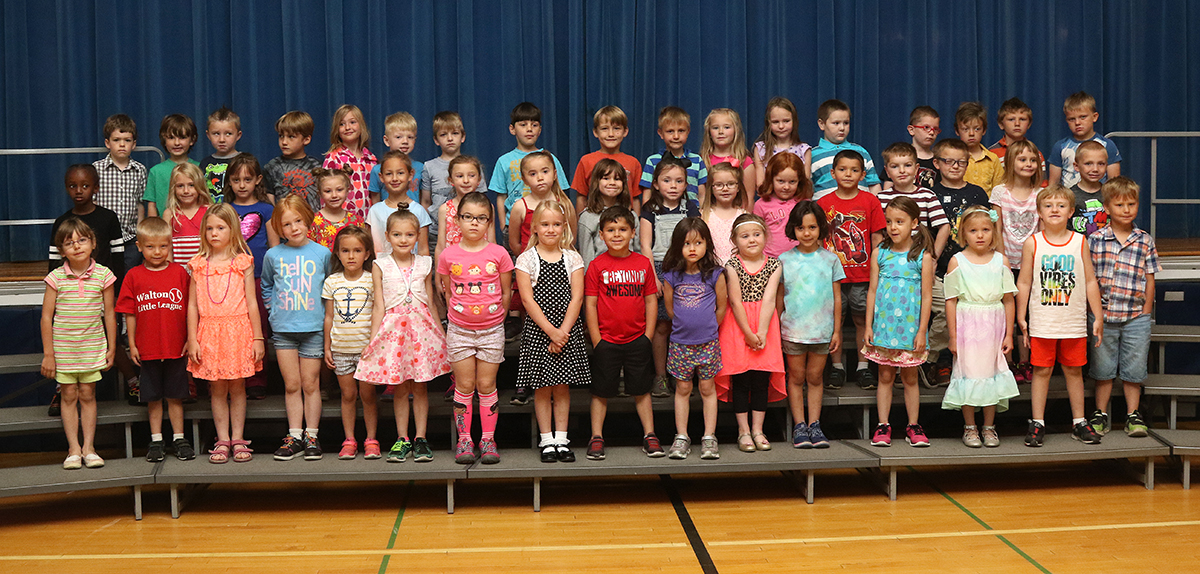Kindergarten SOW awards spring 2018