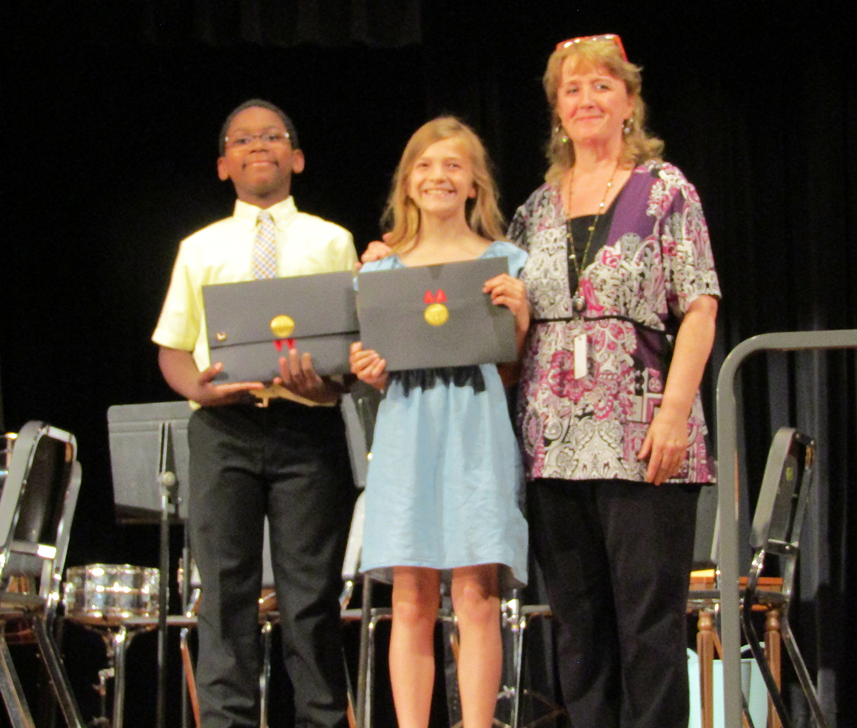 Music award 5th grade